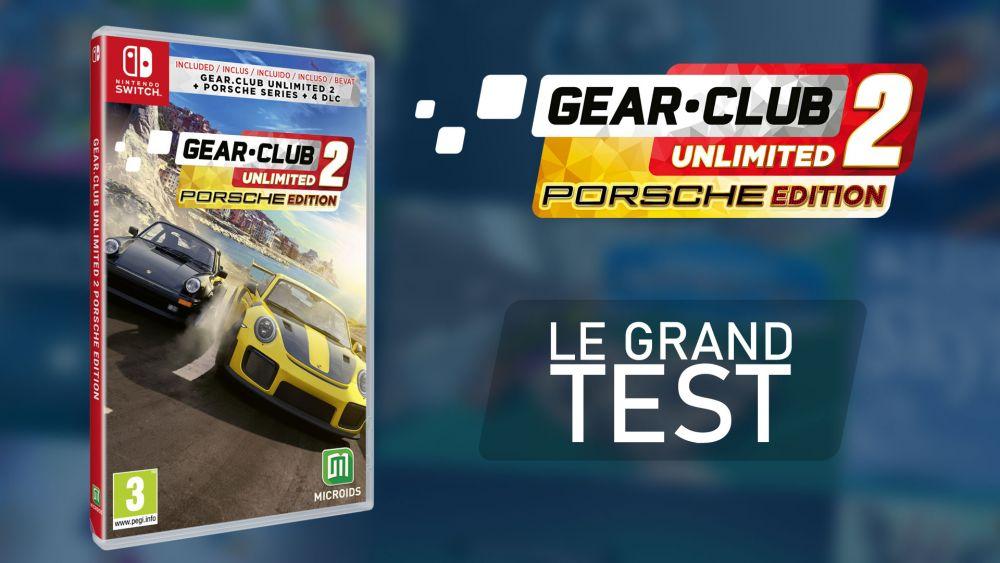Image de couverture de [Test] Gear.Club Unlimited 2 - Porsche Edition