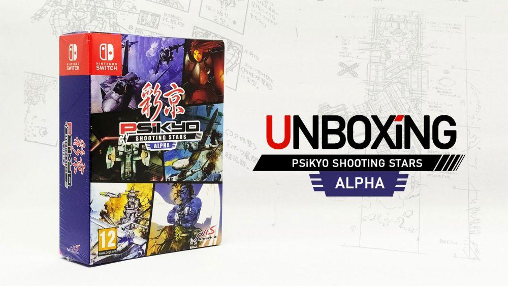 Image de couverture de [Unboxing] PSiKYO Shooting Stars ALPHA - Edition limitée Nintendo Switch