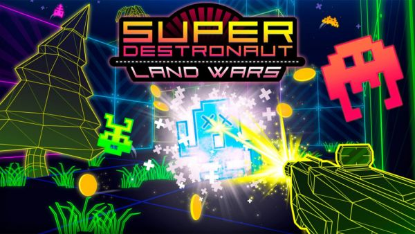 Image de couverture de [Test] Super Destronaut Land Wars - PS Vita - Space invader au raz des pâquerettes ?