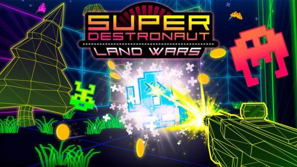 [Test] Super Destronaut Land Wars - PS Vita - Space invader au raz des pâquerettes ?