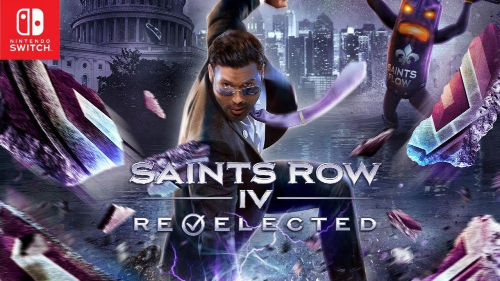 Image de couverture de [Test] Saints Row IV Re-elected sur Switch, enter the Dominatrix!