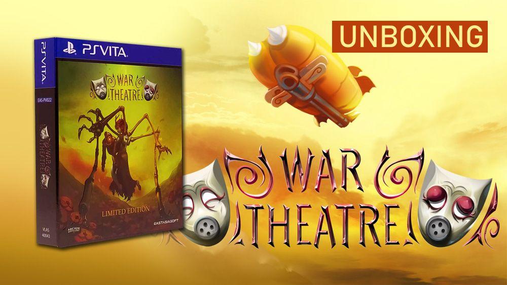 [Unboxing] War Theatre édition physique limitée PS Vita