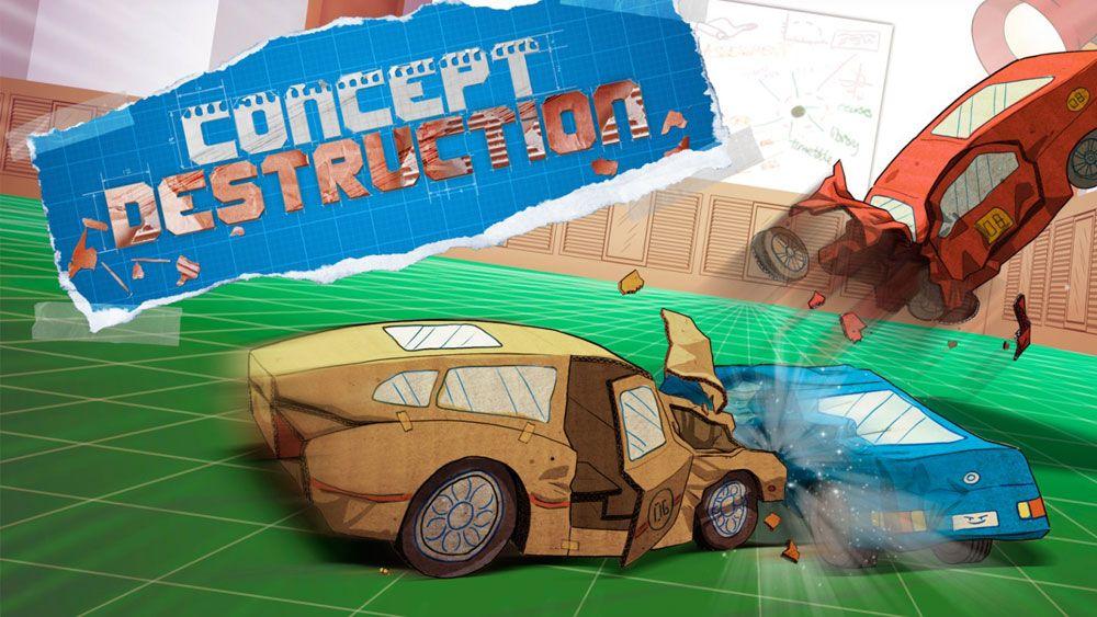 Image de couverture de [Test] Concept Destruction - Xbox - On va jouer cartons sur table