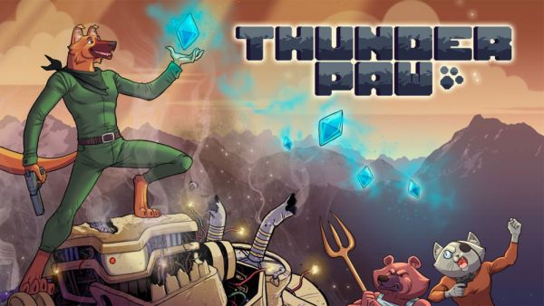 Image de couverture de [Test] Thunder Paw sur PS Vita : retro, bullet, dodo
