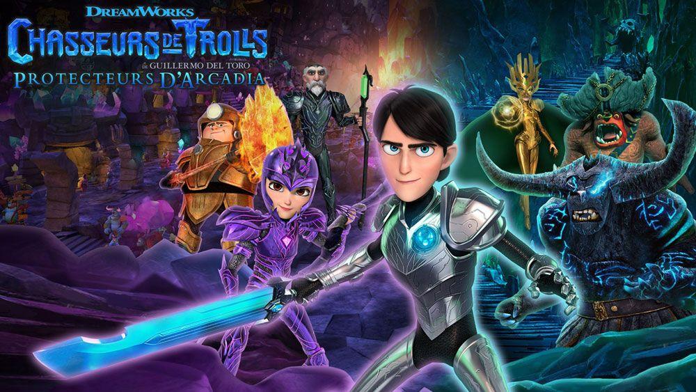 Image de couverture de [Test] Chasseurs de Trolls : Protecteurs d'Arcadia, sur Switch, au bonheur des fans (et de leurs enfants)