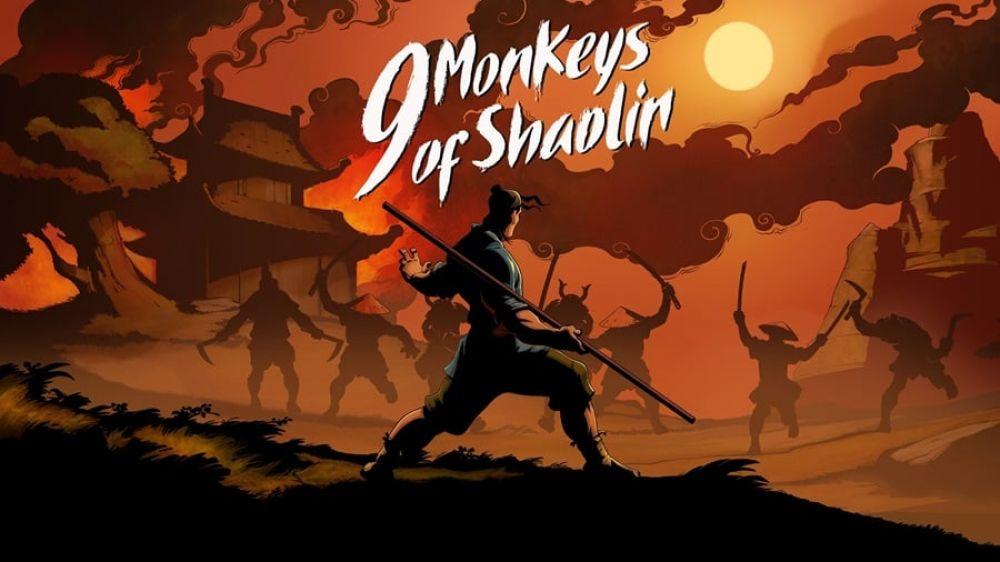 Image de couverture de [Test] 9 Monkeys of Shaolin sur Switch : Kung Fu Fighting!