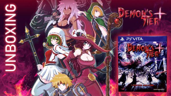 Image de couverture de [Unboxing] Demon's Tiers + en édition physique limitée PS Vita