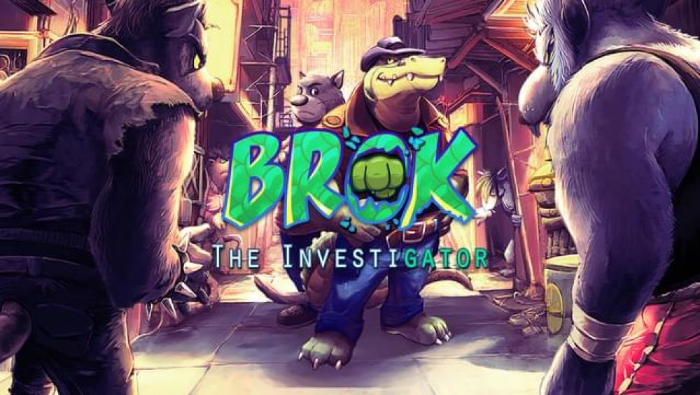 Brok the InvestiGator offre son prologue et lance son Kickstarter!