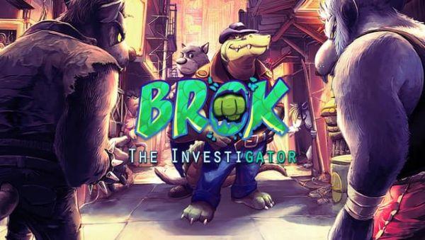 Image de couverture de Brok the InvestiGator offre son prologue et lance son Kickstarter!