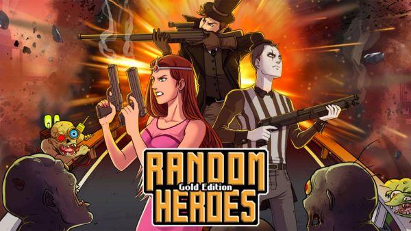 Image de couverture de [Test] Random Heroes: Gold Edition - PS Vita - Fini le corps à corps