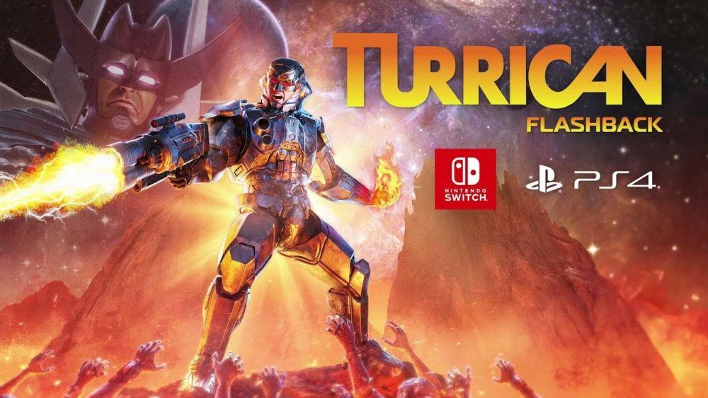 Image de couverture de [Test] Turrican Flashback - PS4 - LE Run&Gun NostalGeek