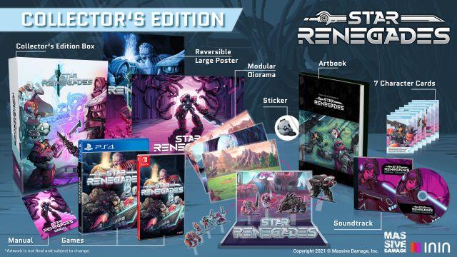 Star Renegades s'offre une édition physique limitée pour PS4 et Switch