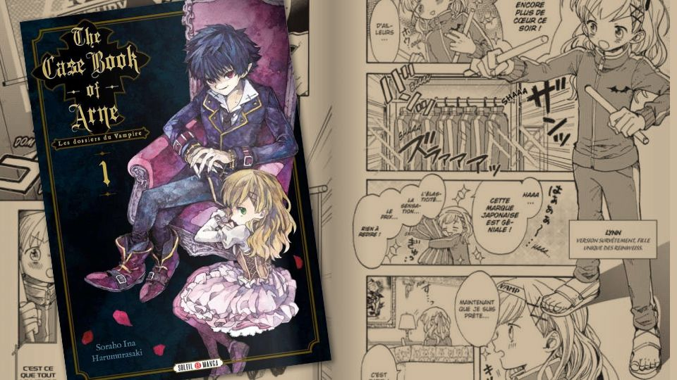 [Critique] The Case Book of Arne T01, de Harumurasaki