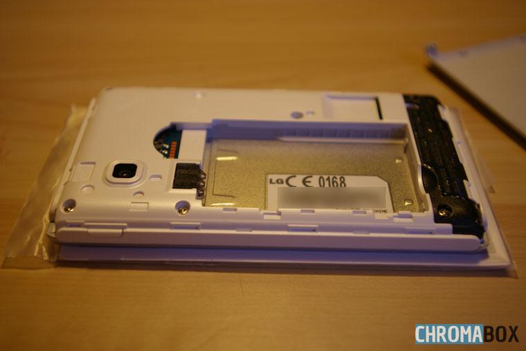 Compartiment batterie et SIM