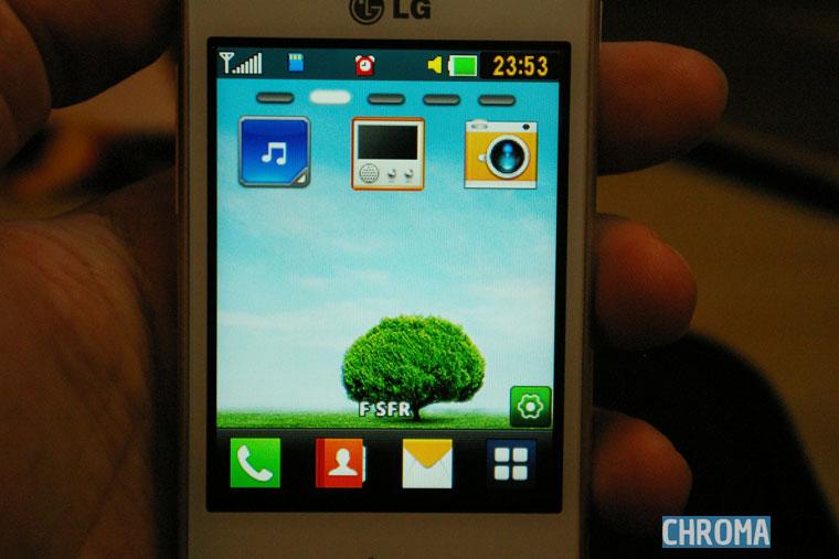 L'OS du LG T580
