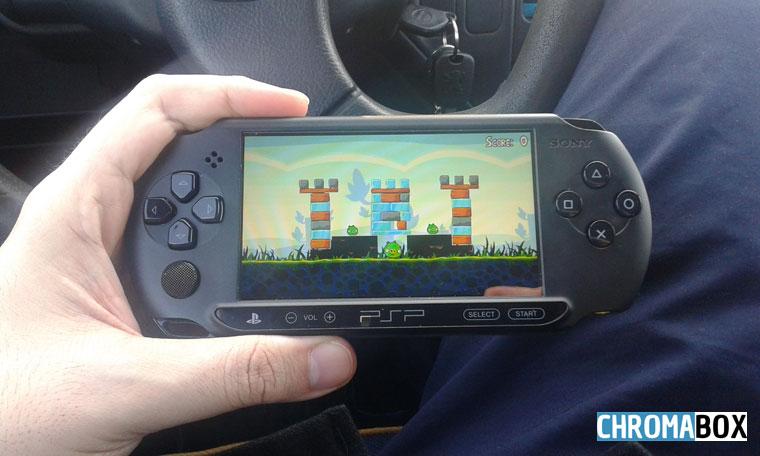 PSP street qualité d'écran en extérieur
