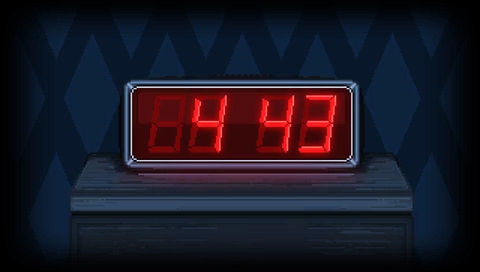 Il est 4 heures 43